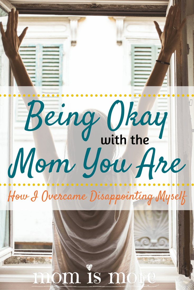 Coping with disappointing someone you love is hard. Learning how to move on when you've disappointed yourself, now that's something entirely different. Find out the ways I have battled (and overcome!) disappointing myself as a mom. Click here to read more!