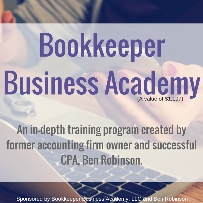 Mom is More is giving away full enrollment to Ben Robinson's super popular bookkeeping course, Bookkeeper Business Academy! Enter to win the chance to become a work-at-home bookkeeper!