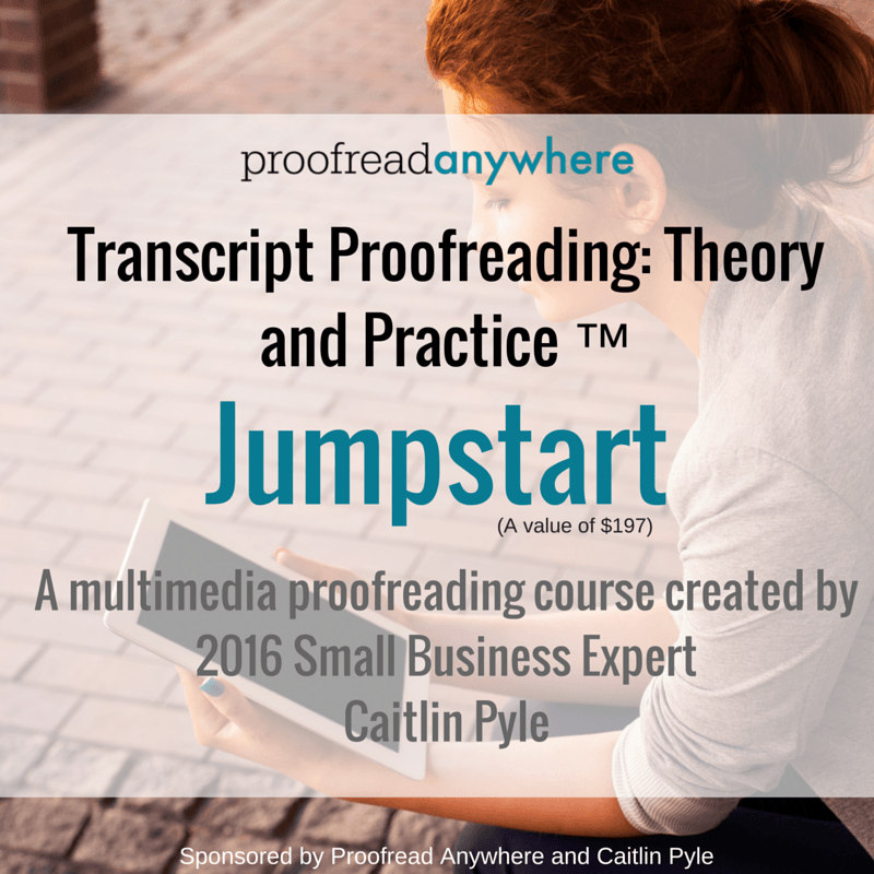 Enter to win enrollment in Proofread Anywhere's Jumpstart program! Visit momismore.com for details.